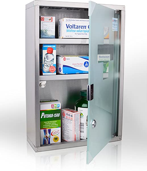 Wincere Stainless Steel Wall Mount Medicine Cabinet S1200