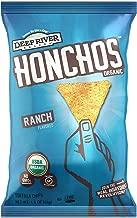 HONCHOS Organic Gluten Free Tortilla Chips, Ranch, 1.5 Ounce (Pack of 24), Non GMO