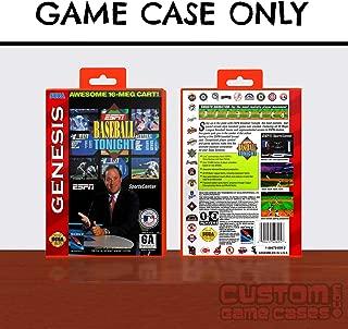 Sega Genesis ESPN Baseball Tonight - Case