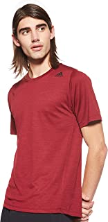 adidas Men's FFREELIFT_TECH FITTED STRIPED HEATHER T-SHIRTS