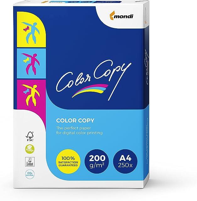 Color Copy CCA4200 - Paquete 250 hojas de papel 200 g/m² A4