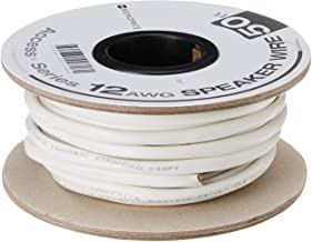 Monoprice Access Series 12 Gauge AWG CL2 Rated 2 Conductor Speaker Wire/ Cable –..