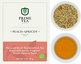 ROOIBOS TEA - 2 Ounce of Tea ≈ 30 servings - Delicious Vegan Caffeine Free Non-GMO All Natural Flavors Assortment of Loose Leaf Tea - Hot or Iced -