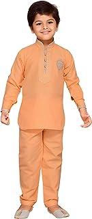 AJ Dezines Kids Indian Wear Pathani Suit Set For boys