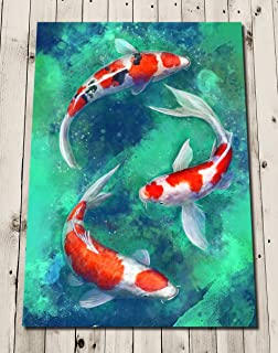 Best koi carp prints Reviews