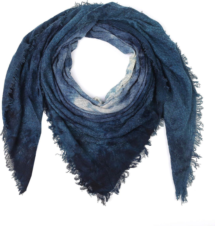 YLhighton Men's and Women's Universal Square Scarf Baltimore Mall Purchase Tie-Dye Large