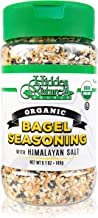 Organic Everything Bagel Seasoning Blend: Himalayan Sea Salt Sesame & Dried Poppy Seeds - Kosher Toppings and Spices with Seasonings of Garlic & Onion (Bottle 5.1oz)