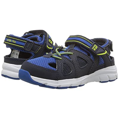 Stride Rite Made 2 Play Ryder (Toddler/Little Kid) (Navy/Royal/Lime) Boy