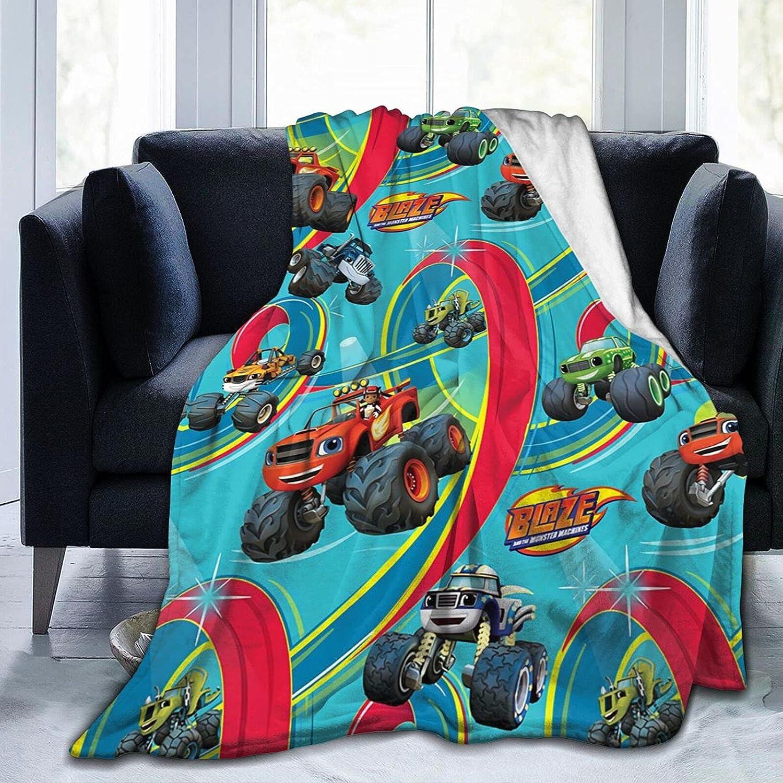 LEMEI Blaze-Monster-Machines Blanket Fleece Throw Se Under blast sales All Ranking TOP16