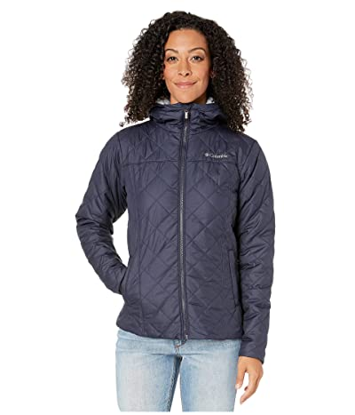 Columbia Copper Cresttm Hooded Jacket (Dark Nocturnal/Cirrus Grey) Women