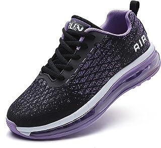 Axcone Laufschuhe Damen Herren Turnschuhe Sportschuhe Schuhe Air Cushion Sneaker Freizeit Training Fitness Gym
