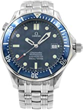 Omega Seamaster Mens Blue Dial Stainless Steel Automatic James Bond Watch 2531.80