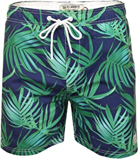 Tokyo Laundry Childs Ellenboro Swimming Shorts New Designer Flower Print Trunks