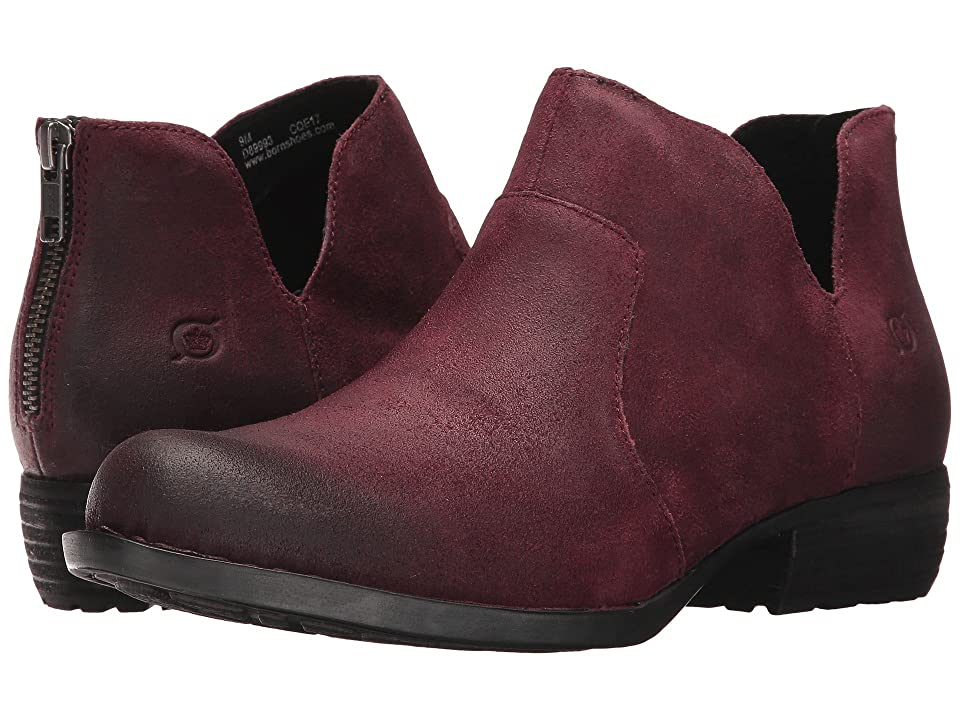 Born Kerri (Burgundy Distressed) Women