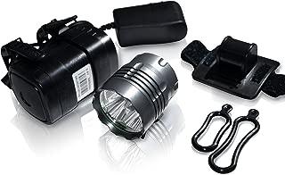 SB Series Extreme Performance LED Bike Light System: SB1600 SB2600 SB3000 (1600/2600 / 3000 Lumens) High Capacity 8800mAh ABS Polymer Battery Pack