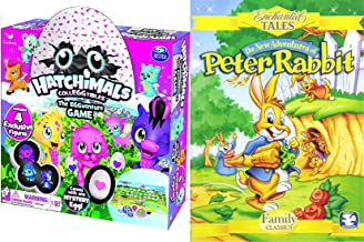 EGGventure Little bunny tales! Holiday Spring New Adventures Peter Rabbit + Hatchimals Egg Game Edition Bundle Enchanted Tales Fun Toy 2 Pack Celebration