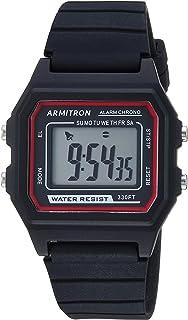 Armitron Sport Unisex Digital Chronograph Silicone Strap Watch, 40/8447