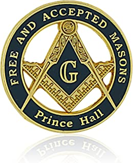 Prince Hall Free and Accepted Mason Lapel Pin (Freemasonry)