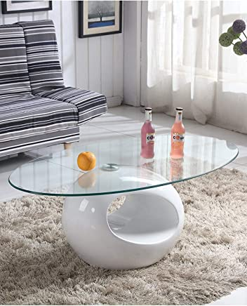 Tremendous Amazon Co Uk Glass Tables Living Room Furniture Home Best Image Libraries Thycampuscom