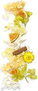 Acorn-Style* ハーバリウム花材キット オレンジ 花材のみ 1本分 手作りのお祝いプレゼント