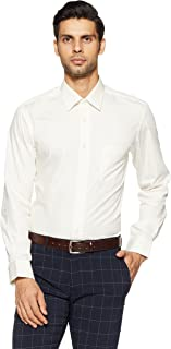 Arrow Men's Plain Regular Fit Formal Shirt