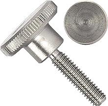 OPIOL QUALITY® Kartelschroeven DIN 464 hoge vorm M6x16 mm van roestvrij staal A1 (2 stuks) kartelschroeven duimschroeven r...