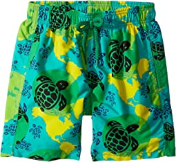 Vilebrequin Kids - Mappemonde Dots Swim Trunk (Toddler/Little Kids/Big Kids)