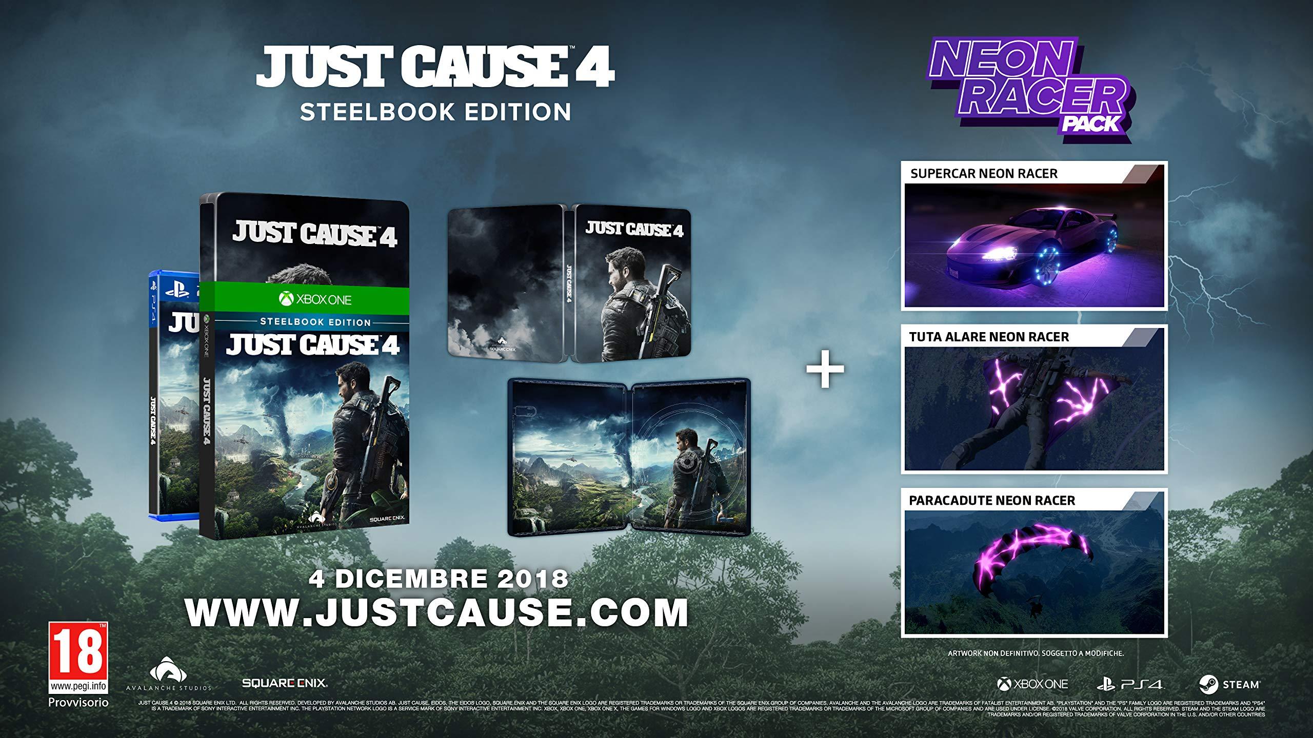 Just Cause 4 - Steelbook Edition - Xbox One [Importación italiana ...