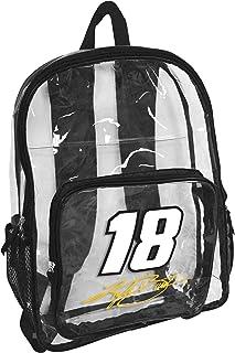 Logo Brands NASCAR unisex-adult Clear Backpack