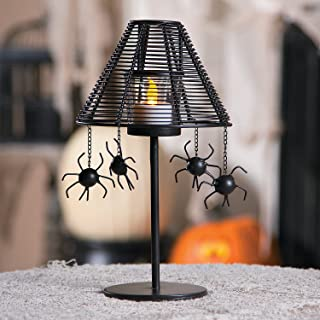 Fun Express Halloween Spider Votive Lamp - Home Decor