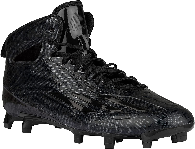Adidas Adizero 5star 4.0 Mid Mens Calcio Tacchetti 11 schwarz