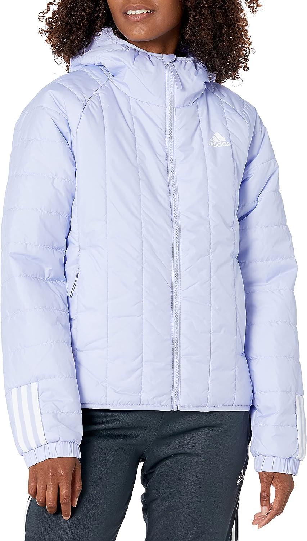 adidas Womens Itavic 3-Stripes Light Hooded Jacket
