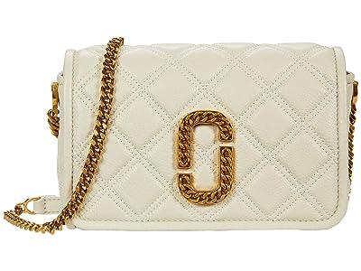 Marc Jacobs Flap Crossbody (Oatmilk) Handbags