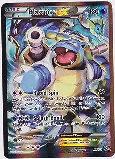 Pokemon Card Promo #XY122 - Blastoise EX (Holo-foil)