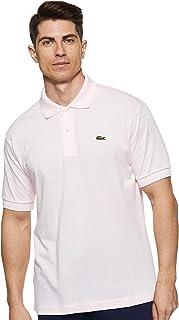 Lacoste L1212, T-Shirt Polo, Uomo, Rosa (Flamant T03), FR 4