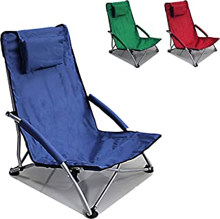 Hello Journey Low Sling Beach Chair Folding