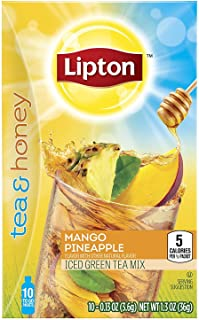 Tea & Honey Green Tea with Mango Pineapple To-Go (Each 10 Count), Pack of 12