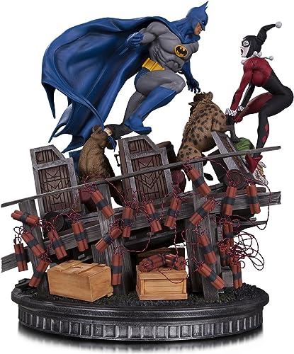 DC Comics mar170452 tman Vs Harley Quinn Schlacht Statue