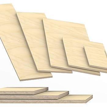 Siebdruckplatte 24mm Zuschnitt Multiplex Birke Holz Bodenplatte 50x40 cm