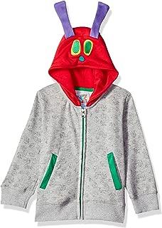 Eric Carle Boys' Toddler Grey Ls Hoodie