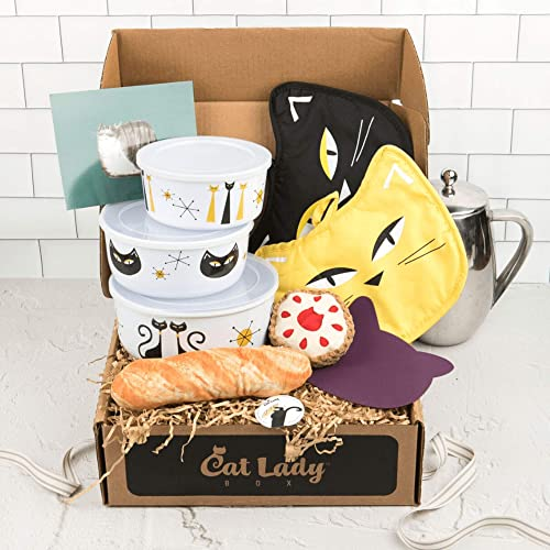 CatLadyBox - Subscription Box for Cat Ladies and Cats: Crazy - Large