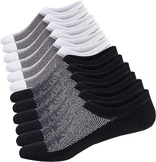 Calcetines Cortos Mujer Invisibles Respirable Calcetines tobilleros Algodón Antideslizantes