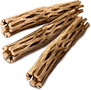 SunGrow Cholla Wood, 5 Inches Long, Aquarium Decoration and Chew Toys for Small Pets, Artistic Home-Decor, Long Lasting Dr...
