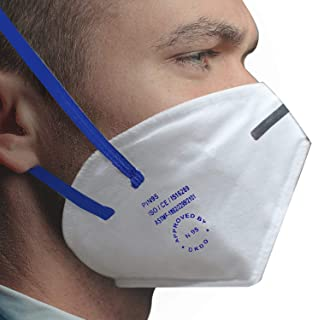 ORILEY PI-N95 DRDO Approved Face Mask with Breathing Valve & Metal Nose Pin for Men & Woman (5 Pcs)