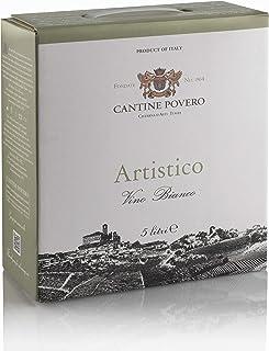"Cantine Povero - Bag In Box 5 lt. Vino Bianco da Uve Arneis""Artistico"" 12,5°"