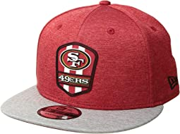 9Fifty Official Sideline Away Snapback - San Francisco 49ers