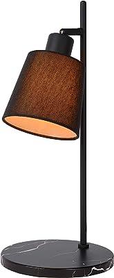 Lucide 77583/81/30 Lampe de table, Métal, 25 W, Noir