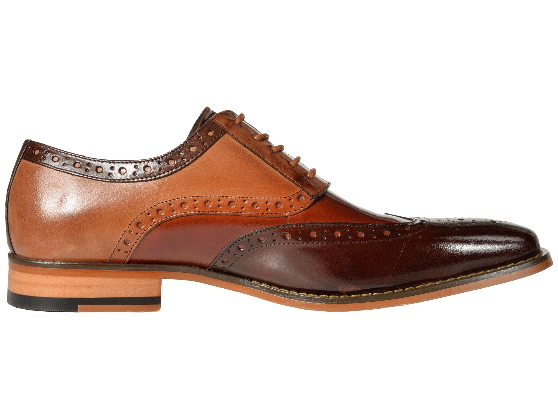 Oxford tan Stacy Brown Wingtip Adams Tinsley qfn4nwvgp
