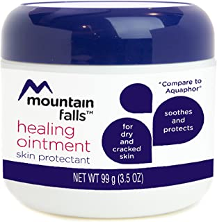 Mountain Falls Healing Ointment Skin Protectant for Dry and Cracked Skin, Hypoallergenic, 3.5 Ounce