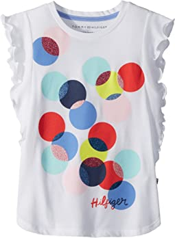 Tommy Hilfiger Kids - Dot Tee (Big Kids)